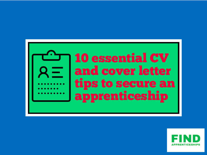 CV tips to become an apprentice
