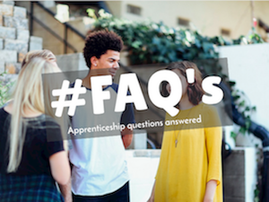 FAQs about apprenticeships