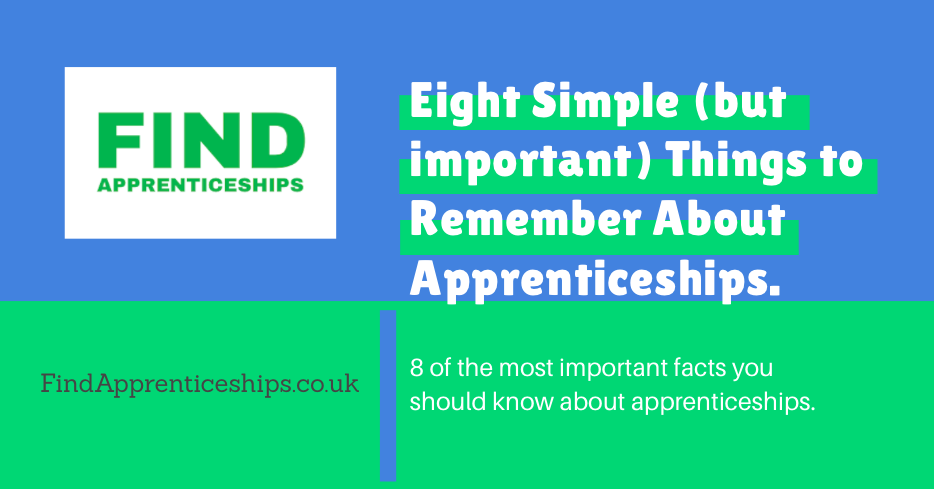 Important facts to know about apprenticeships Apprenticeships